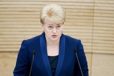 Prezidentė vyksta į Liuksemburgą ir ES viršūnių susitikimą Briuselyje
