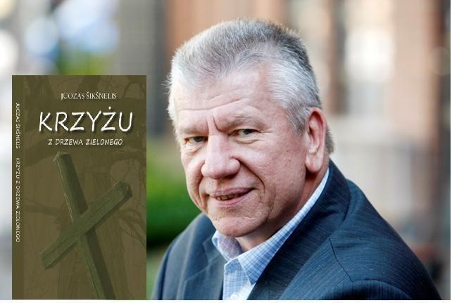 Klaipėdiečio rašytojo Juozo Šikšnelio romanas pristatytas Varšuvoje