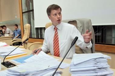 Prokurorai pradėjo tyrimą, ar Kauno meras per balsavimą nesuklastojo dokumentų