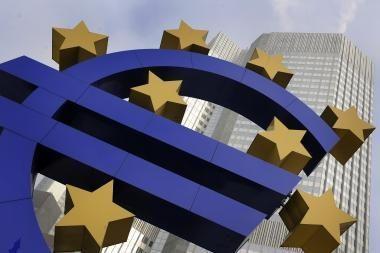 Skolų krizė euro zonoje kelia pavojų ECB reputacijai?