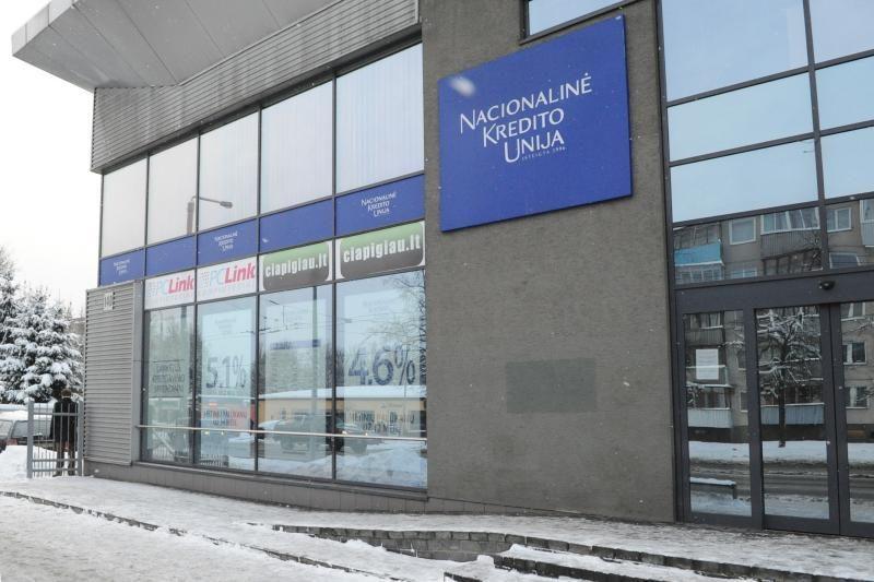 Pajininkai nenori gelbėti Nacionalinės kredito unijos