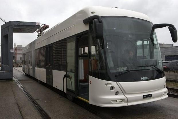 Ekologiškas troleibusas, kuriame vietos laisvai pakaks 111 keleivių