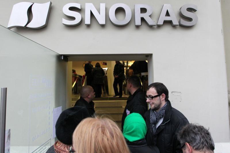 """Vyriausybė """"Snoro"""" indėlių grąžinimui skolins iki 3,3 mlrd. litų"""
