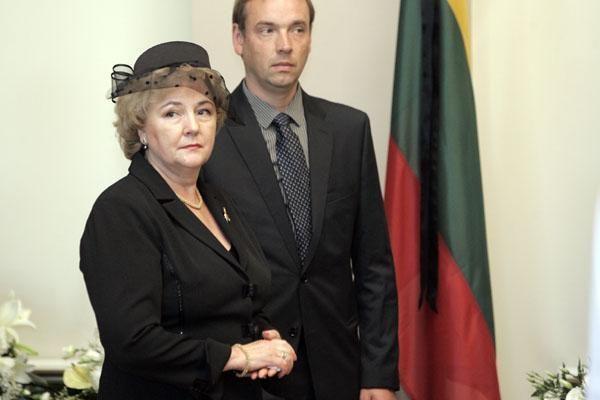 K.Brazauskienei leista toliau gyventi Prezidento rezidencijoje