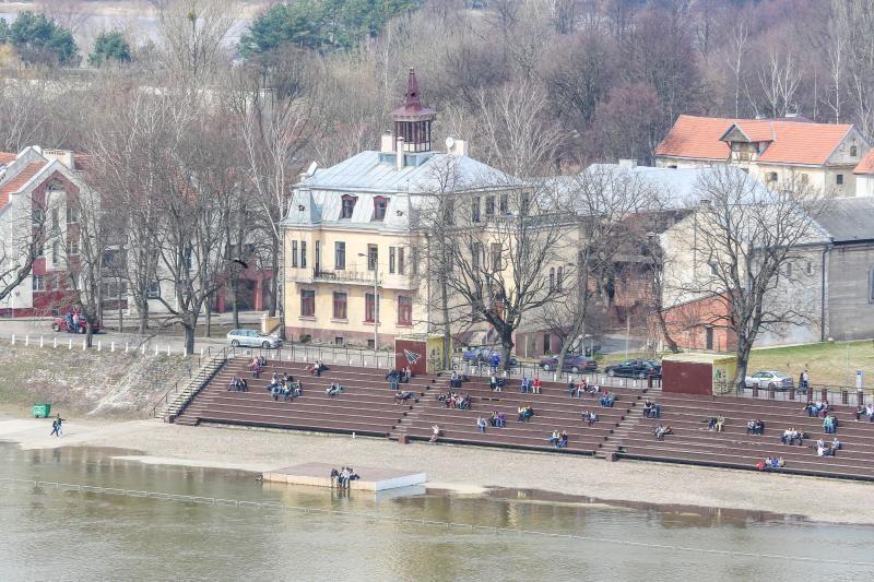 Dėl potvynio Kauno gyventojų evakuoti nereikės?