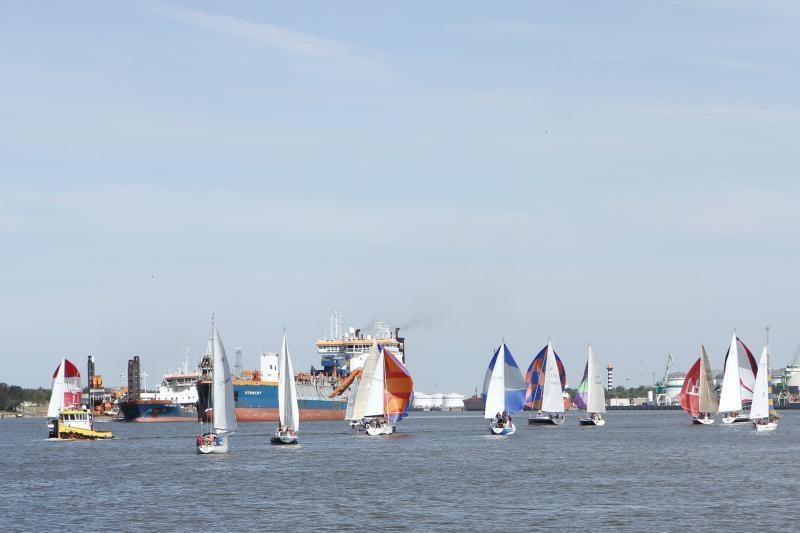 Pasaulinė regata Klaipėdai – prabangos prekė