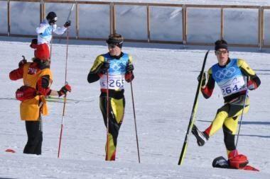Sprintas laimės lietuvių slidininkams neatnešė