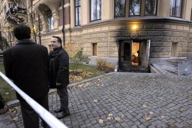 Suomijoje padegta Turkijos ambasada