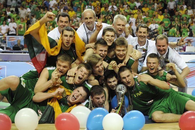 Lietuvos jaunieji krepšininkai - pasaulio čempionai!