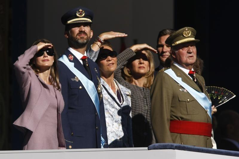 Teismas laikinai atšaukė šaukimą Ispanijos karaliaus dukrai