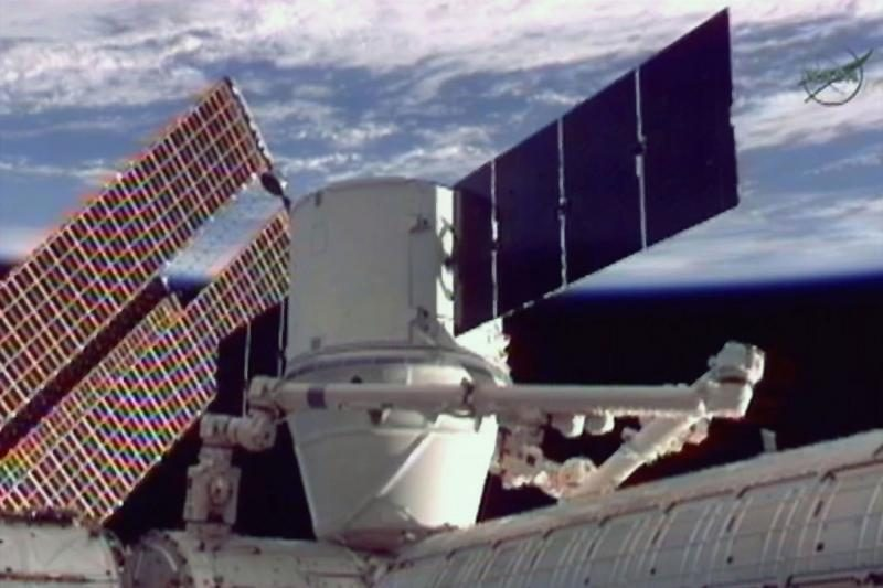 Privati JAV krovininė kosminė kapsulė atsiskyrė nuo TKS