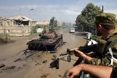 Rusija sustabdė karinę operaciją Gruzijoje (papildyta)