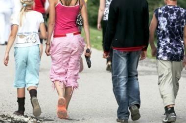 Vilniuje sumušti nepilnamečiai