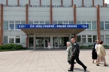 Šimtus tūkstančių ligoninė mokės Ligonių kasoms
