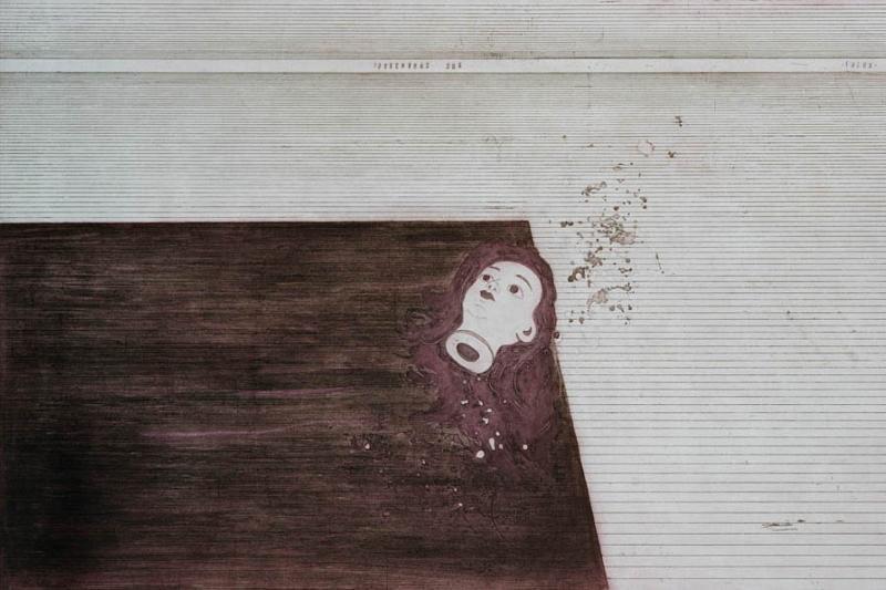 Uostamiesčio Baroti galerijoje – Eglės Vertelkaitės grafika