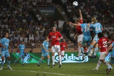 UEFA supertaurę iškovojo Sankt Peterburgo klubas