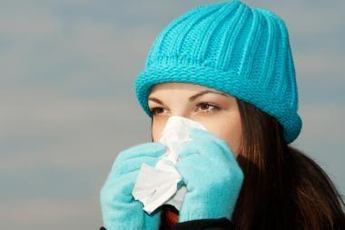 Sergamumas gripu Lietuvoje kol kas nedidelis