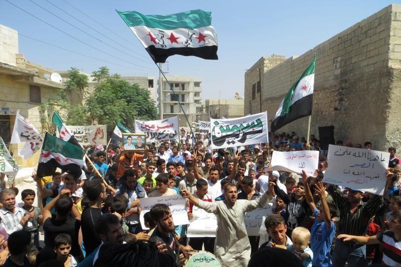 Sirijos sukilėliai pagrobė keturis televizijos darbuotojus