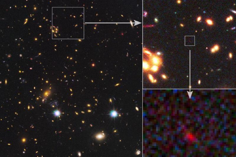 Tolimiausia iš žinomų galaktikų susiformavo Visatos apyaušryje