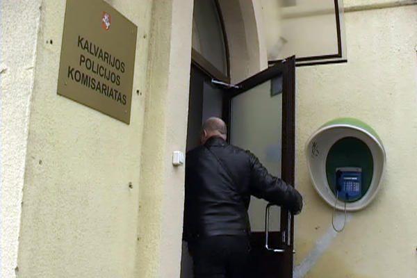Į korupcijos skandalą įklimpęs Marijampoles policijos viršininko pavaduotojas neteko posto