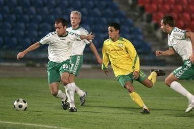 Aptarta taikos sutartis su futbolo federacija