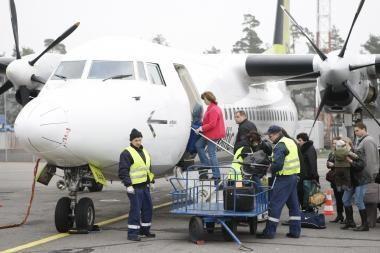 Palangos oro uostas sulaukė 16 proc. daugiau keleivių