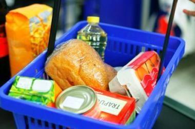 Lietuvoje organizuojama paramos akcija stokojantiems maisto