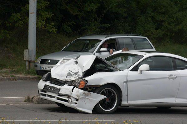 Per avariją Vilniuje nukentėjo BMW vairuotojas