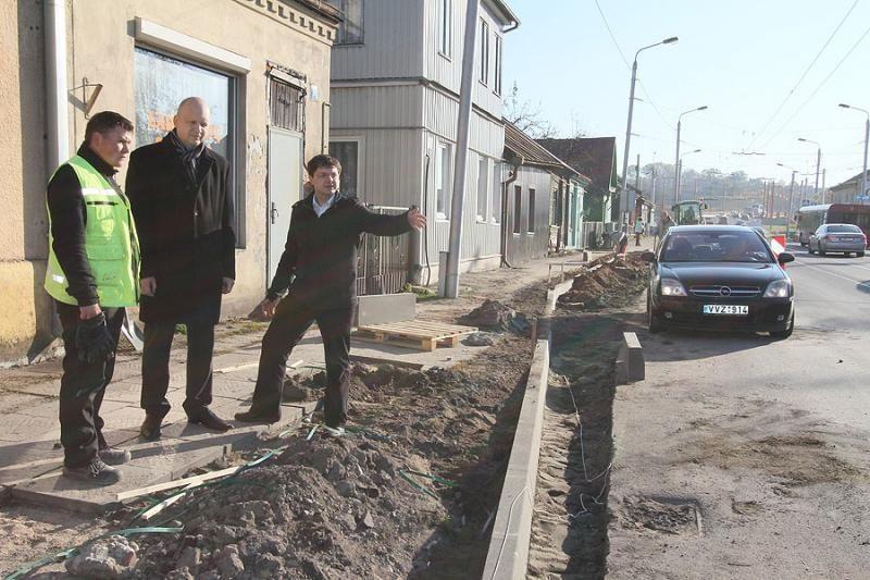 Nuokalnės gatvės tvarkymui – beveik 2 mln. litų