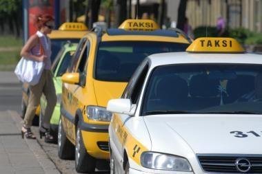 Uostamiestyje ir vėl užpultas taksi vairuotojas