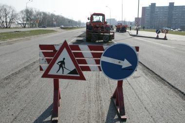 Uostamiestyje vyks gatvių remontas