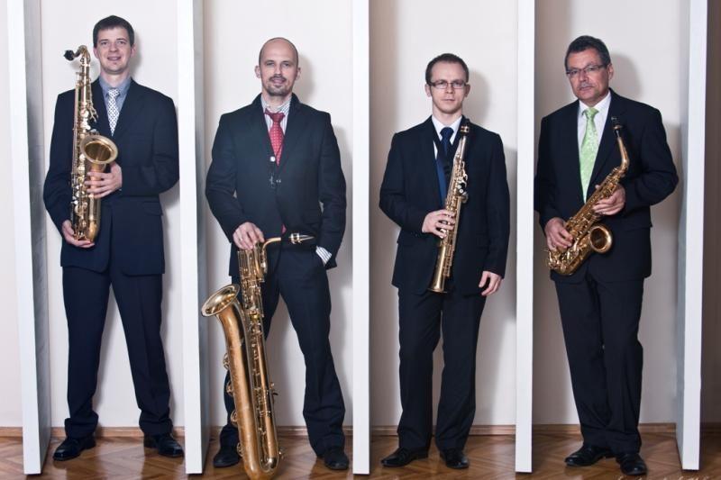 Klaipėdoje koncertuos Rygos saksofonų kvartetas