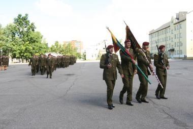 Dragūnų mokomasis batalionas minės 18-ąsios įkūrimo metines