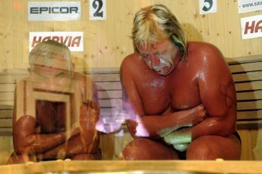 Suomijoje per saunos čempionatą mirė dalyvis iš Rusijos