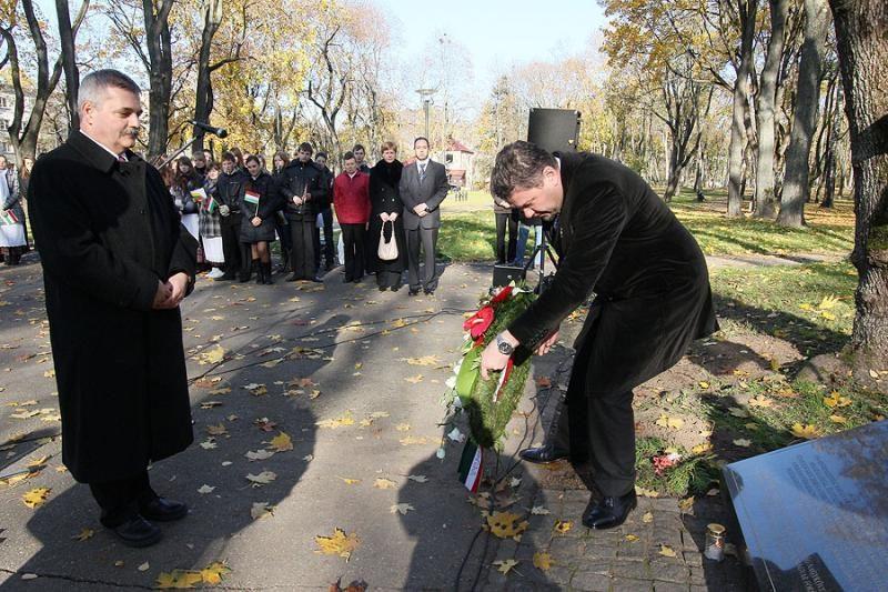 Kauniečiai prisiminė 1956-ųjų Vengrijos revoliuciją