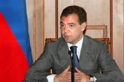 D.Medvedevas: Vakarų lyderiai pripažįsta, kad Gruzija 2008 metais buvo agresorė