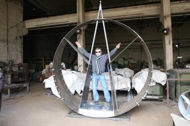 Klaipėdiečio V.Karčiausko skulptūra – į pasaulinę parodą