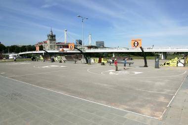 Prie Baltojo tilto bus žaismingai minima Tarptautinė jaunimo diena