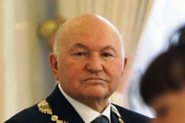 J.Lužkovas pareiškė, kad neketina atsistatydinti savo noru