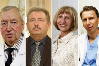 Garbingi apdovanojimai - ir Klaipėdos medikams