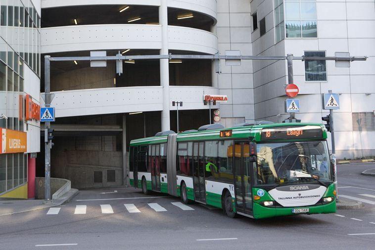 Nemokamas Talino viešasis transportas: viltys ir realybė