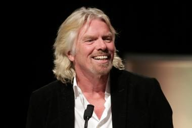 Britų verslininkas Bransonas pelnė prestižinę Vokietijos žiniasklaidos premiją