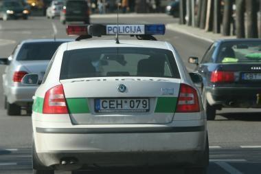 Klaipėdos policijos patrulių savaitgalis