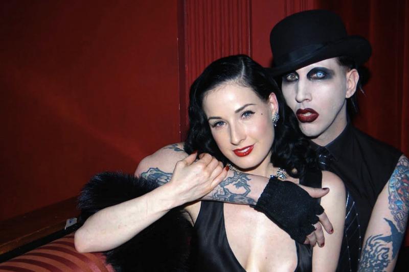 Marilyn Mansonas – siaubūnas, kerintis garsias moteris