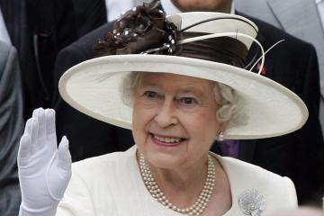 Užuojautą dėl A.M.Brazausko mirties pareiškė britų karalienė