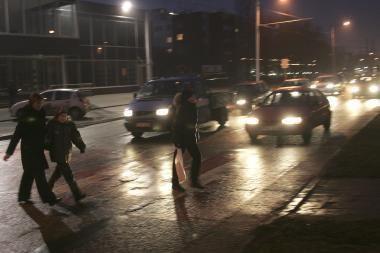 Kauno gatvėse sužaloti net septyni pėstieji, vienas mirė (papildyta)