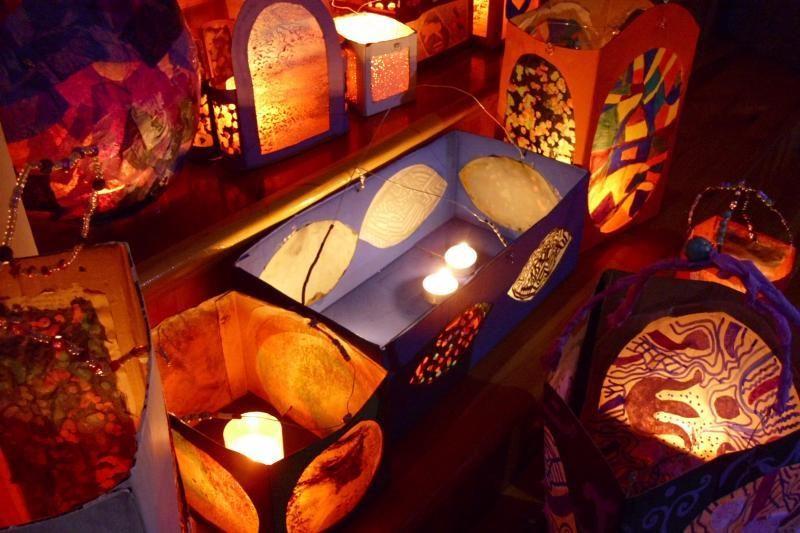 Šventojo Martyno dieną per uostamiestį – su žibintais