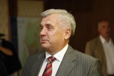 Klaipėdos meras nukentėjo avarijoje