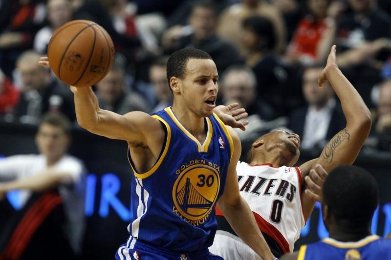 """""""Warriors"""" vijurkas S. Curry įbaugino varžovų sirgalių"""