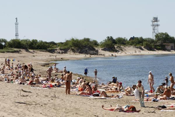 Paplūdimyje siaučia vagys